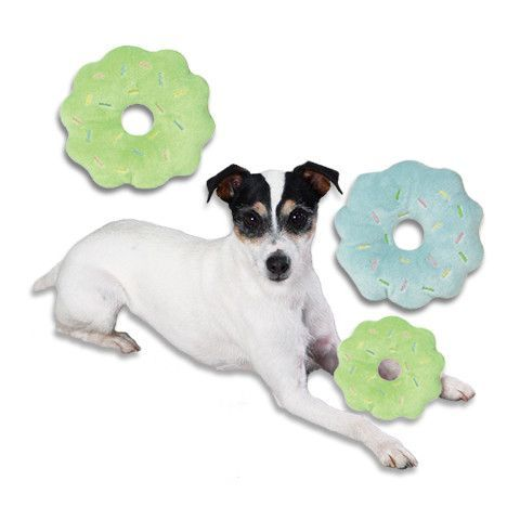 Doughnuts Glazed And With Sprinkles Dog Toy For Little Dogs Dog