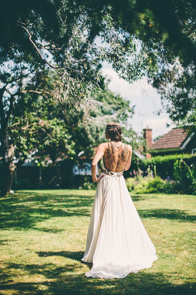 Bohous best bits wc st october wedding wedding dress and maids