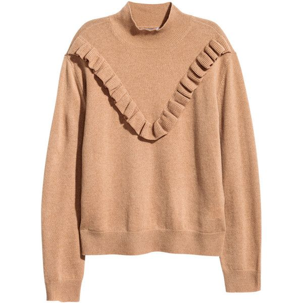 H&M Fine-knit Cashmere Sweater $79 (1.064.130 IDR) ❤ liked on ...