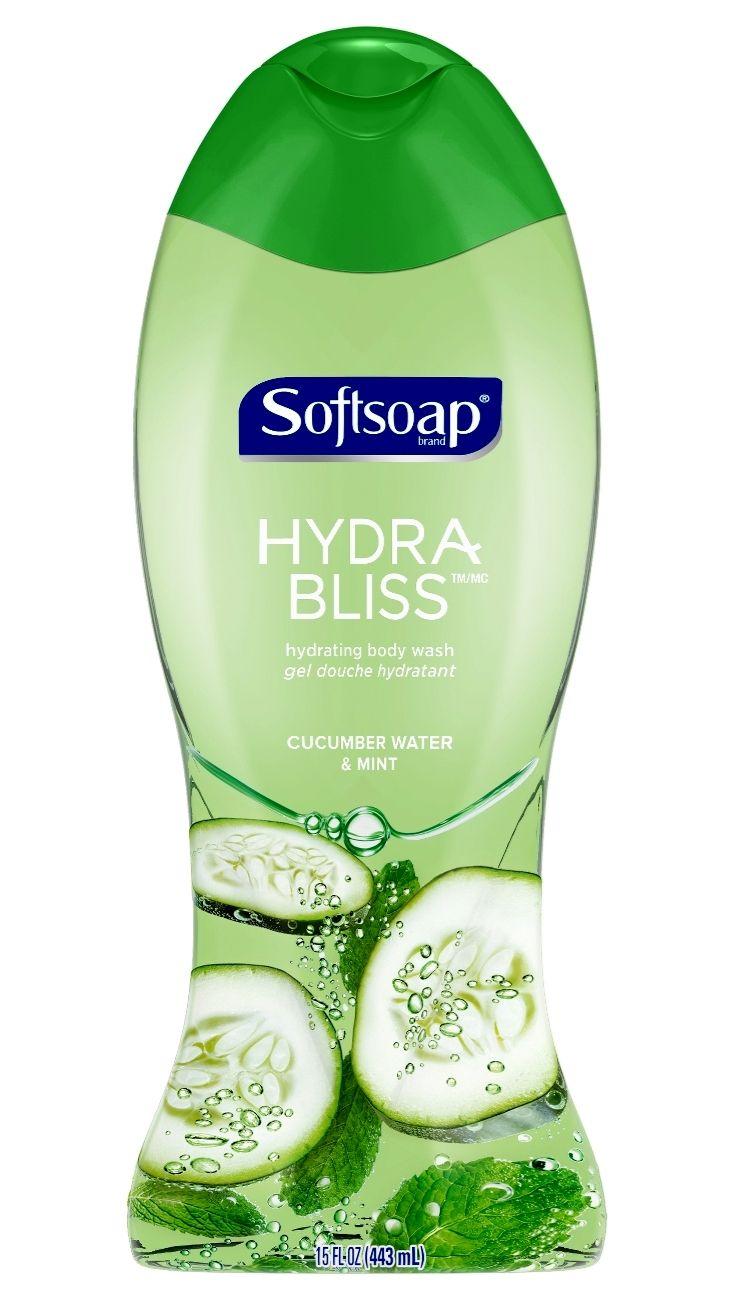 Palmolive Softsoap Hydra Bliss Body Wash, Cucumber Water