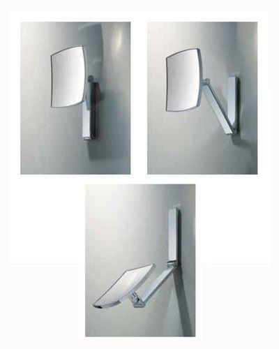 Bathroom Light Fixture Move 180 shethbathrooms keuco ilook move cosmetic mirror non
