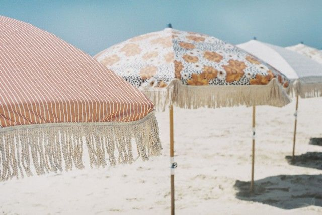 Sunday Supply Co Beach Umbrellas Honestly Wtf Beach Umbrella Summer Deck Umbrella