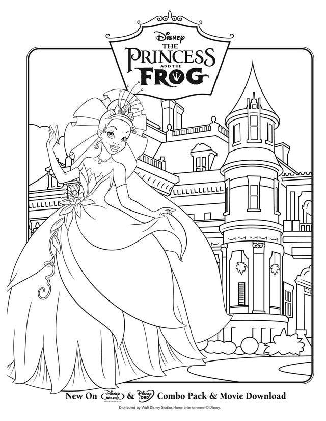 Kids' Crafts Disney princess coloring pages, Disney