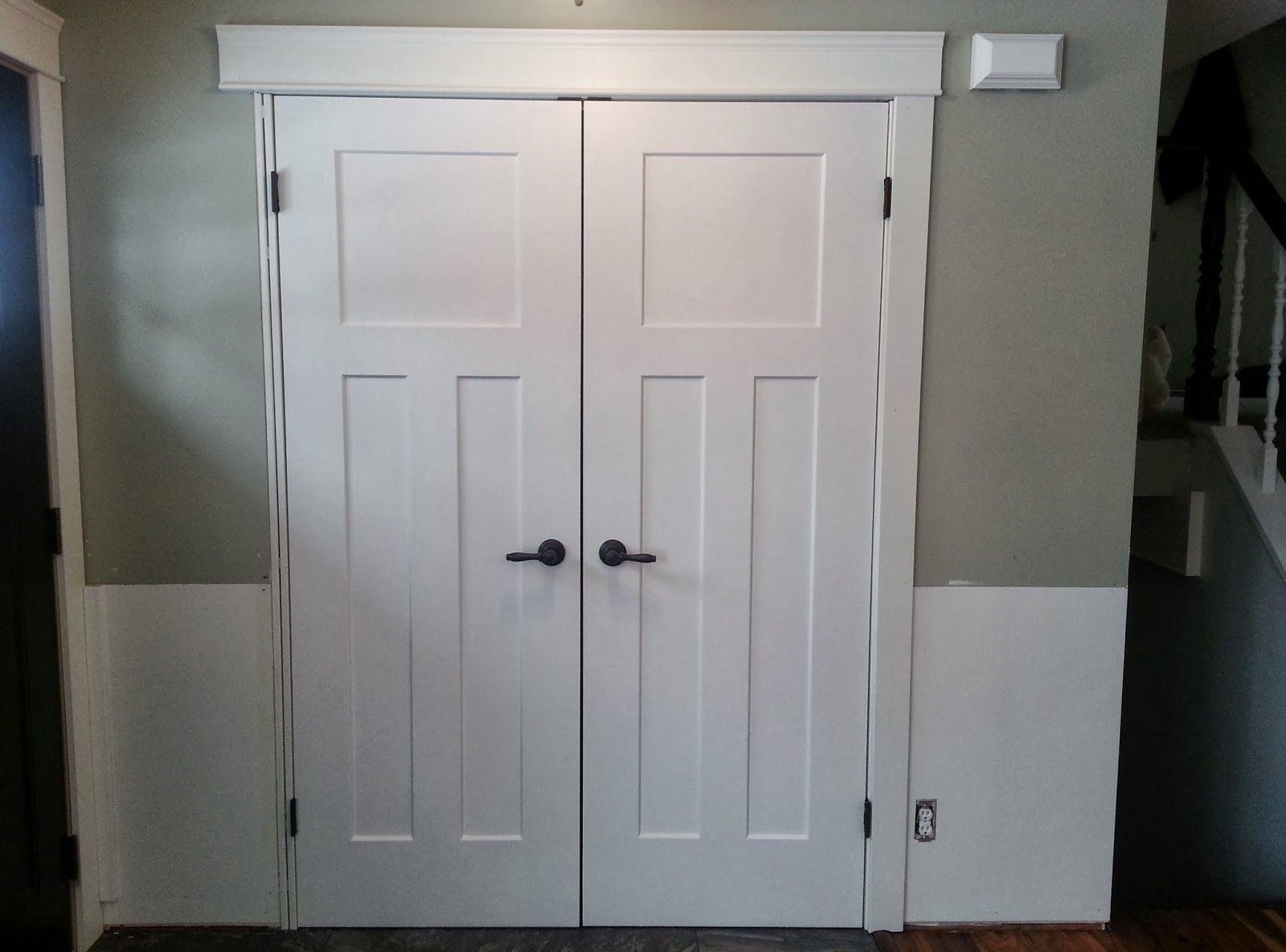 Attrayant Prehung Double Closet Doors