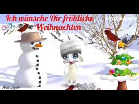 Ich Wünsche Dir Frohe U Fröhliche Weihnachtenund Sende Dir Lustige
