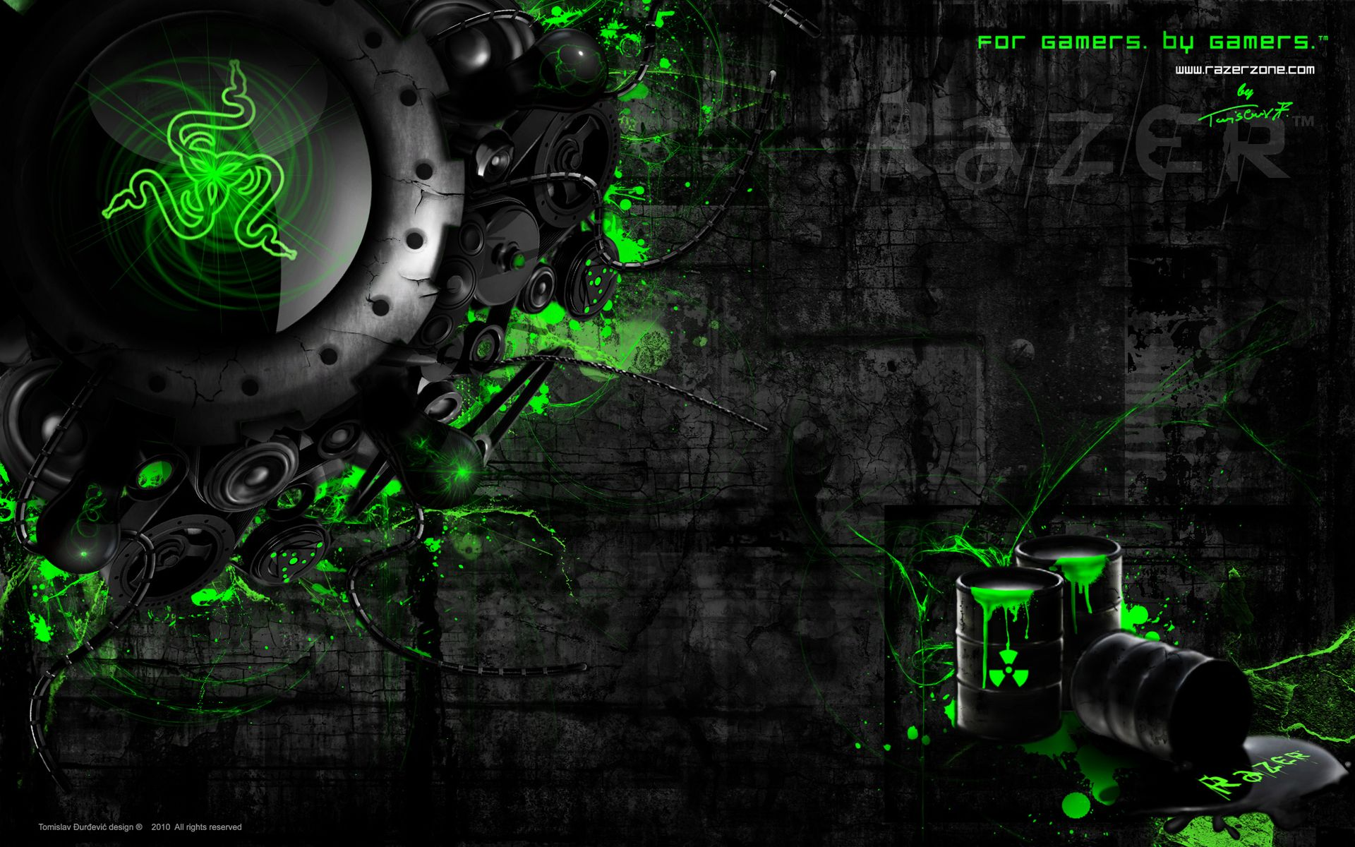 Razer wallpaper Papel de parede wallpaper, Planos de