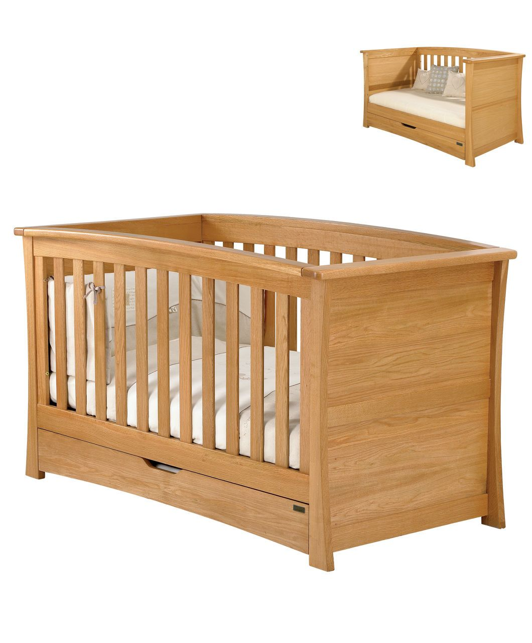 Mamas And Papas Bedroom Furniture Ocean Cot Day Bed Spring Oak Cot Beds Cots Cribs Mamas