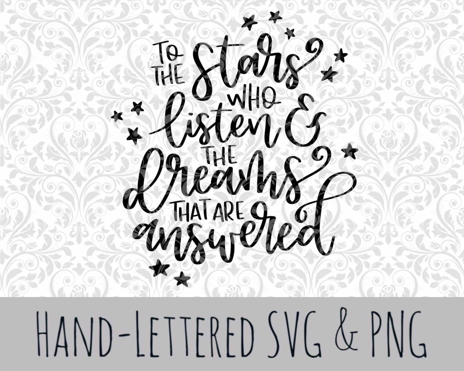 Pin on Hand Lettered SVGs