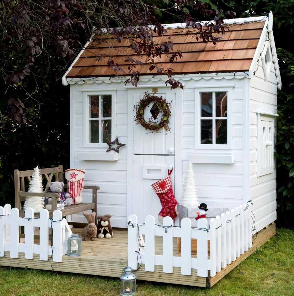 Impeccable Outdoor Wooden Playhouses Kids Furniture Design