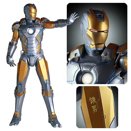 Iron Man Sorayama 1 4 Scale Statue Entertainment Earth Iron Man Marvel Iron Man Man