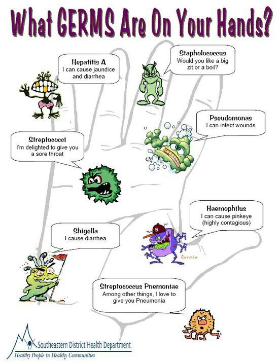 What germs are on your hands?? Avoid the spread of germs by using - küchenarbeitsplatte online bestellen