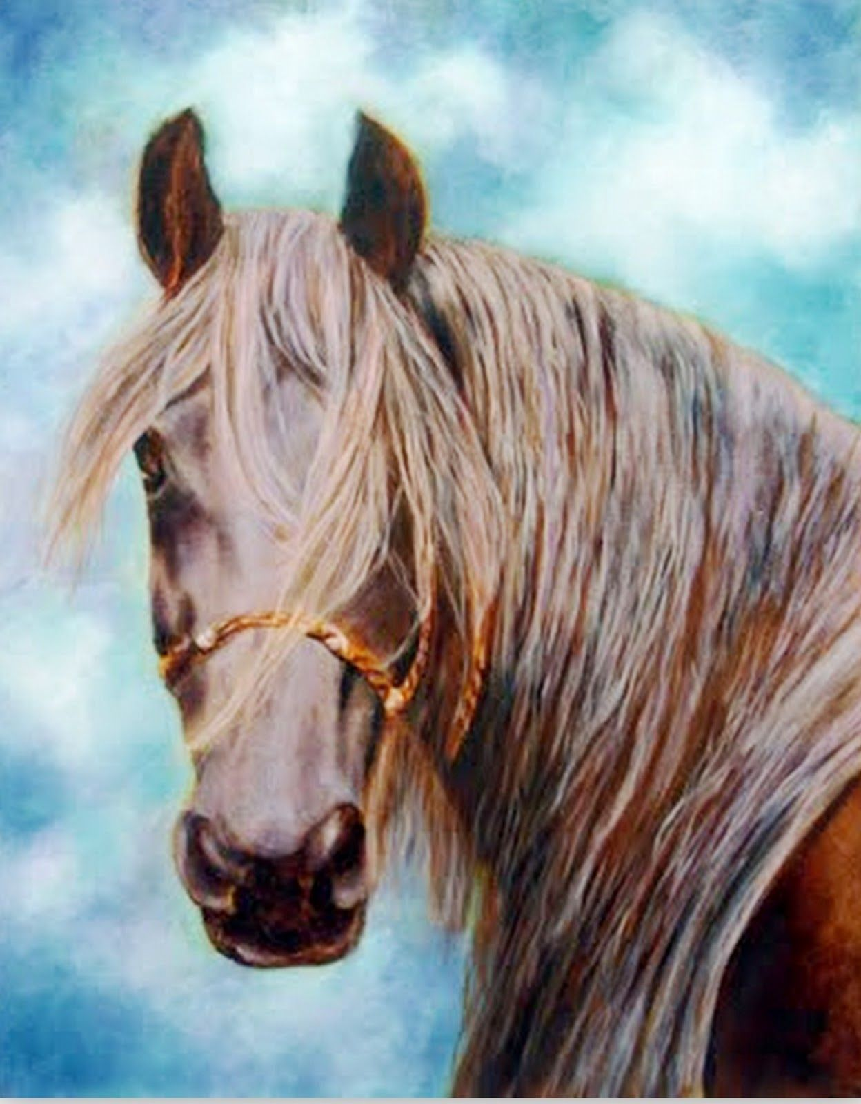 pinturas-caballos-oleo | Caballos | Pinterest