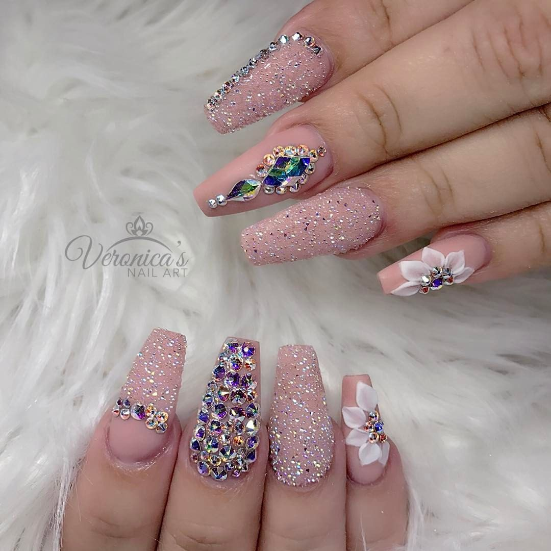 Pin by Alejandra on idek | Pinterest | Nail nail, Makeup and Coffin ...