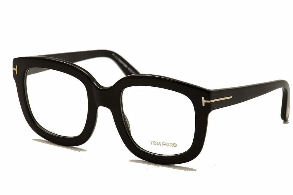 Tom Ford Eyeglasses TF5315 TF/5315 001 Black Optical Frame 53mm