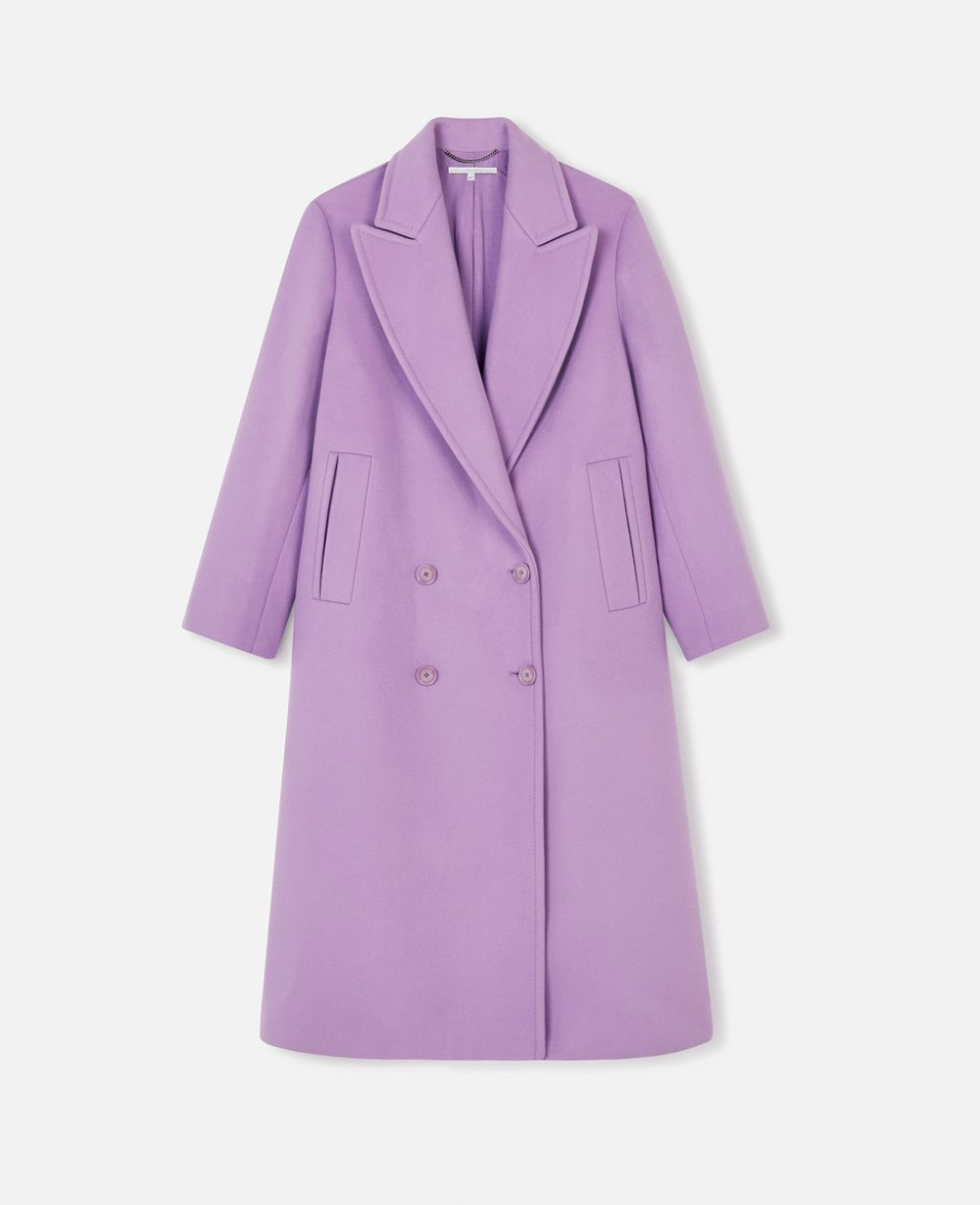 Women S Purple Catalina Coat Stella Mccartney Women In 2020 Stella Mccartney Coat Mccartney [ 1229 x 1000 Pixel ]