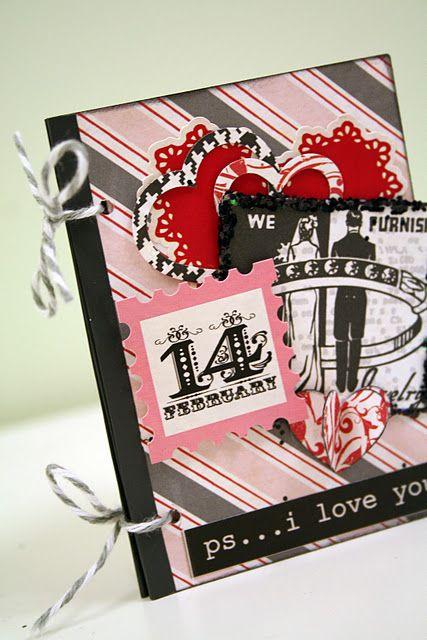 Valentines Mini Book! Cute Idea For a Mini Photo Album!