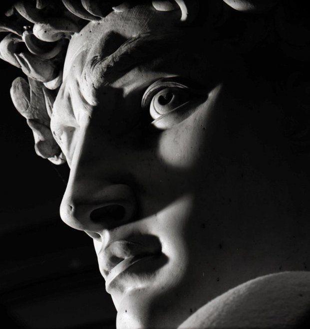 A Carrara il Michelangelo in bianco e nero di Aurelio Amendola