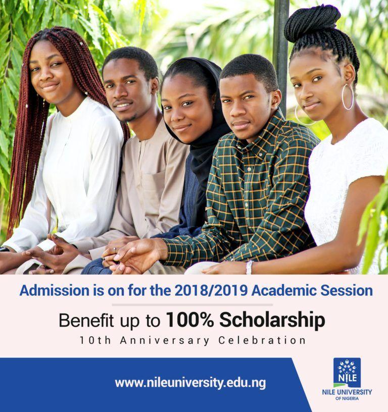 Nile University of Nigeria (NUN) Post UTME Form for 2018