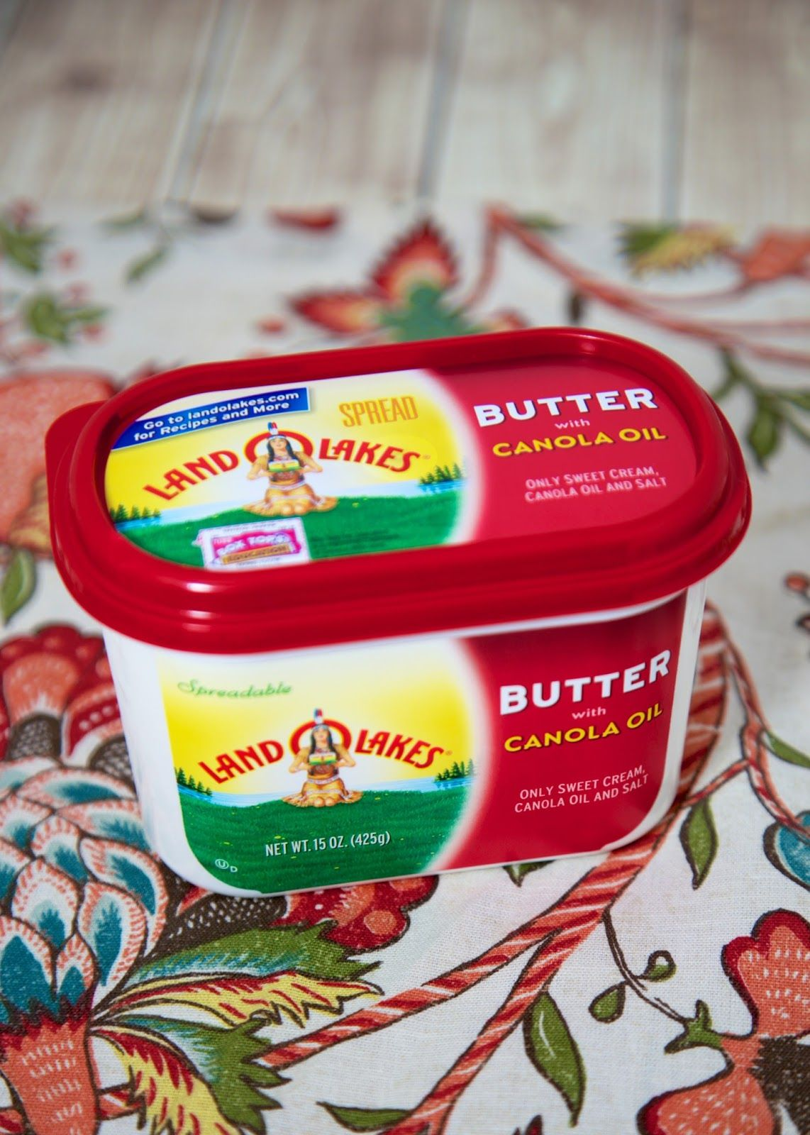 Land O Lakes Butter With Canola Oil Favorite Recipes To Use With Butter