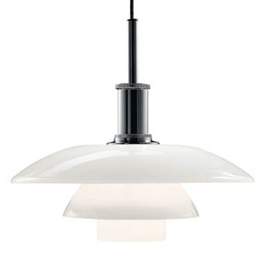 Louis Poulsen Ph 4 1 2 Modern Gl Pendant Lamp By Poul Henningsen Light For Dining Table Zoelyn Pinterest Lamps And