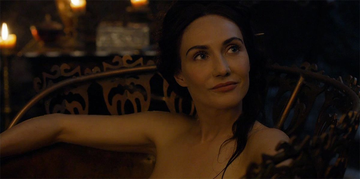 Carice Van Houten On Her Bathtub Encounter And A Confusing Future