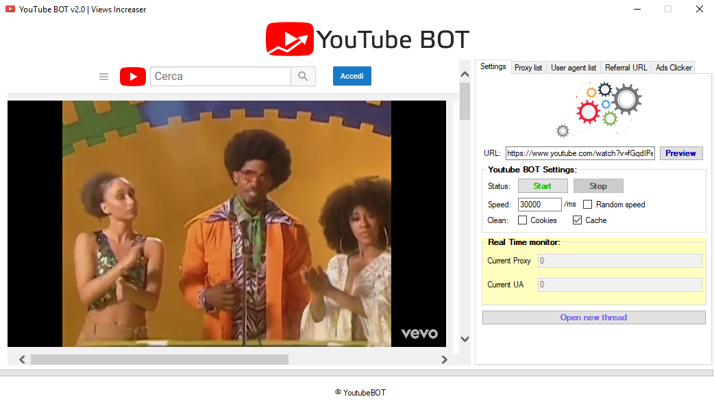 YouTube BOT v2 0 - Professional views BOT all-in-one for $60