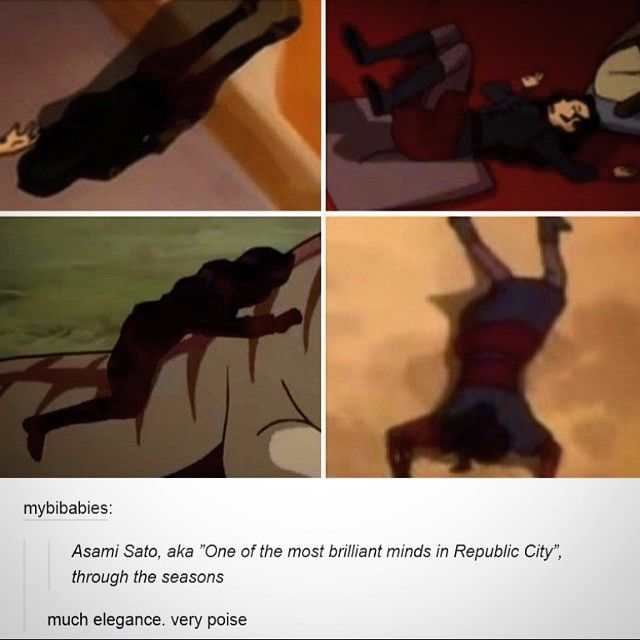 """Where would life be without bae  Stole from @korrasalami  #LegendOfKorra #Korra #Asami #Bae #Clutz #Poser #Avatar #AvatarIsLife #ATLA #LOK"""