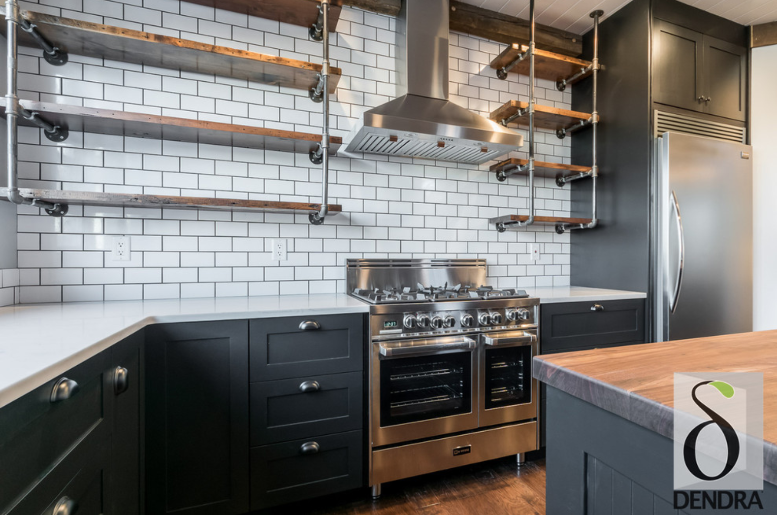 ndustrial and Farmhouse style meet in our #KitchenOfTheWeek