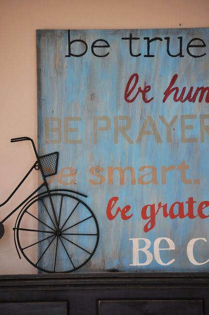 Make Your Own Be Sign Use Your Words Plywood And Paint Easy And Cool Make Your Own Decorative Sign