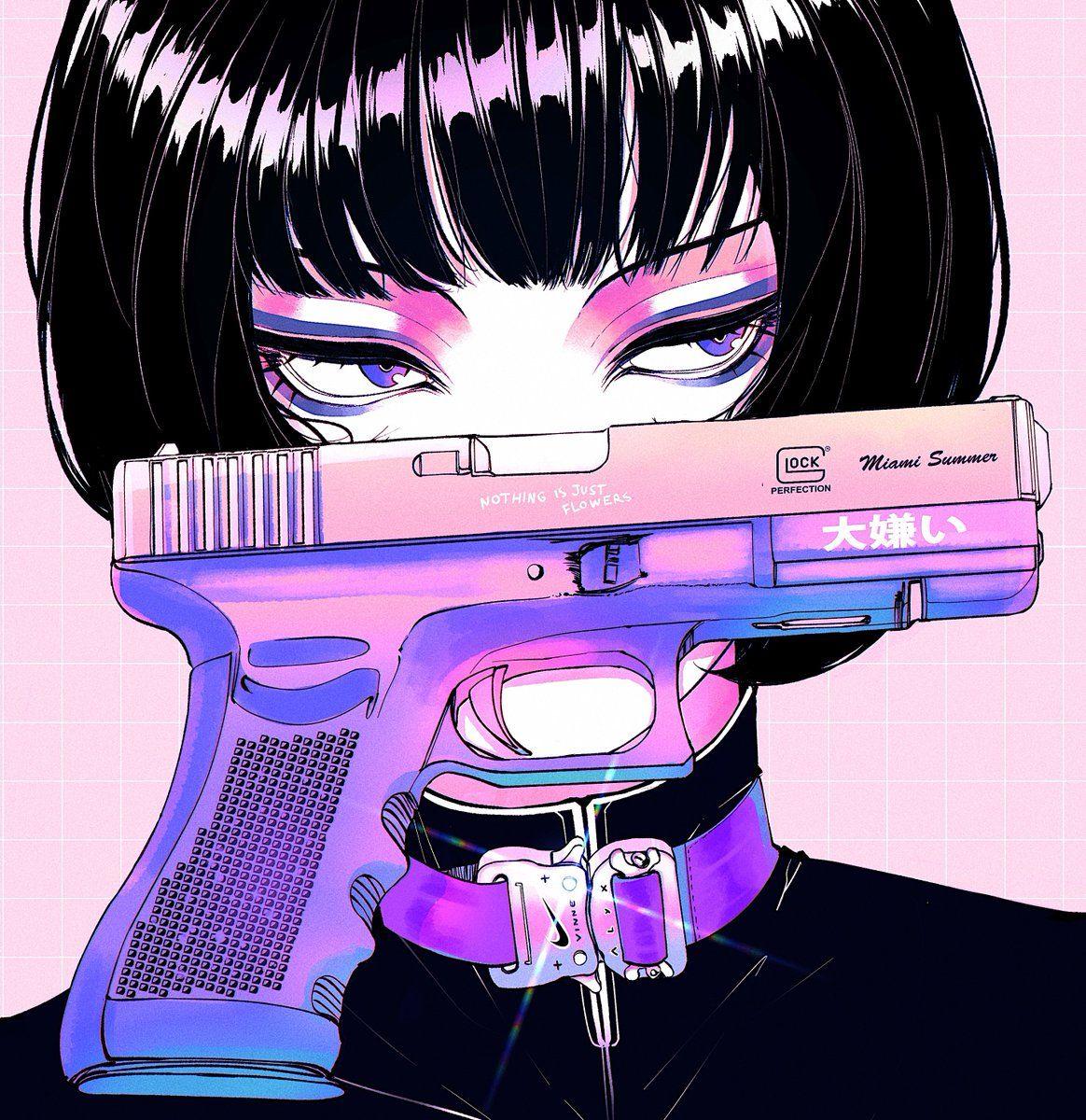Vinne On Twitter In 2020 Aesthetic Anime Cyberpunk Art Anime Art
