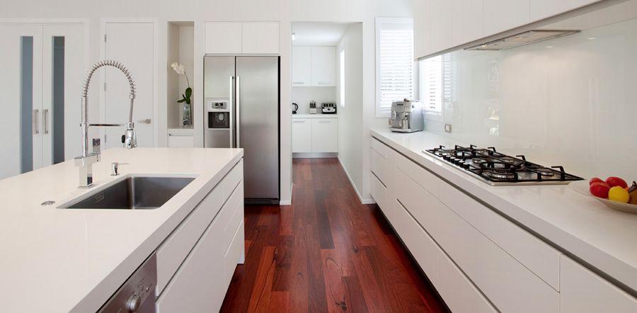 Download Wallpaper White Kitchen Nz