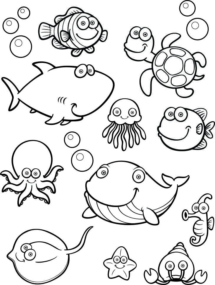 picture relating to Under the Sea Printable identified as Underneath The Sea Printable Printables Down below the sea crafts