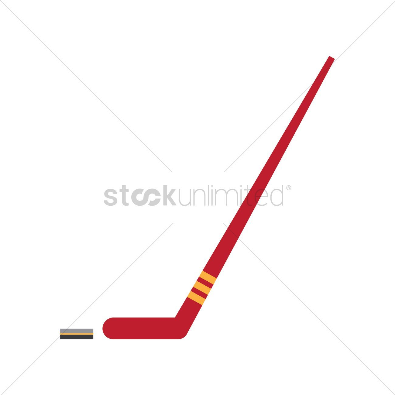 Ice Hockey Stick And Puck Vector Illustration Affiliate Stick Hockey Ice Illustration Vector Affil In 2020 Ice Hockey Sticks Abstract Design Hockey Stick