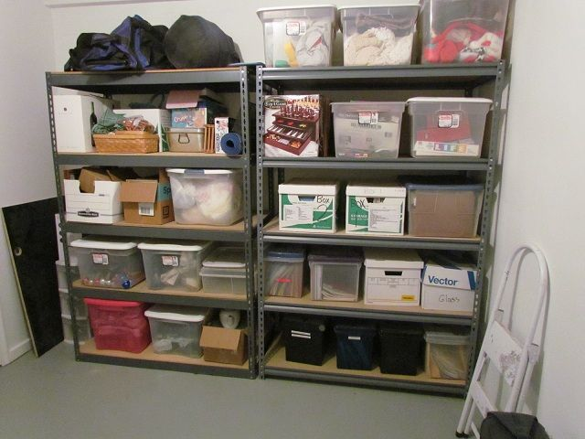 how to organize your storage room | organizing | pinterest