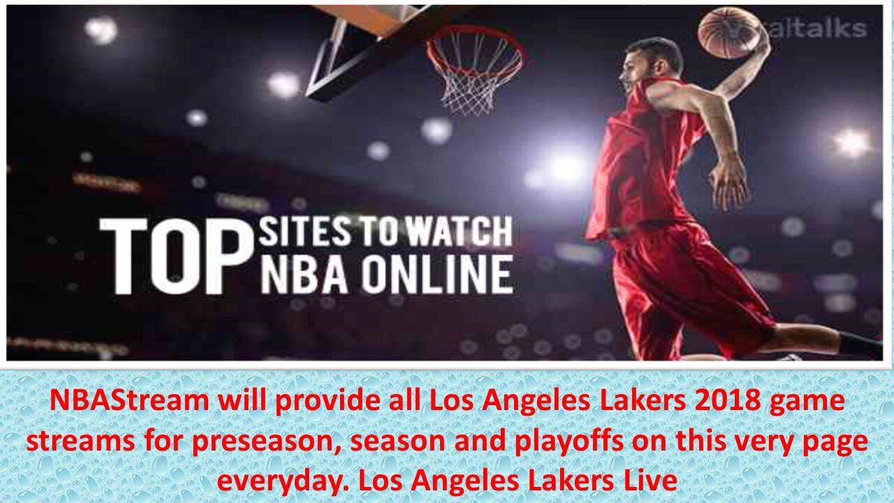 Watch any NBA Game live online for free in HD. We offer