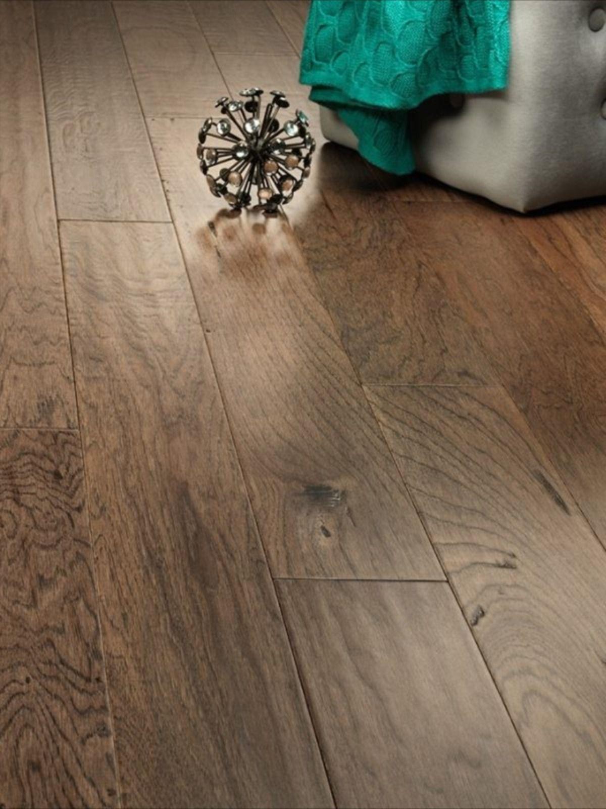 Pueblo prefinished engineered Hickory hardwood flooring