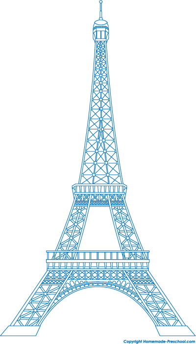 Free Eiffel Tower Clipart Ready For Personal And Commercial Projects Eiffel Tower Clip Art Eiffel Tower Drawing Eiffel Tower Art