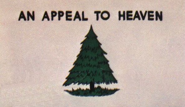 Anappeal To Heaven Flag History Tree Centered On A White Field With The Motto An Appeal To Heaven War Flag Flag Cotton Flag