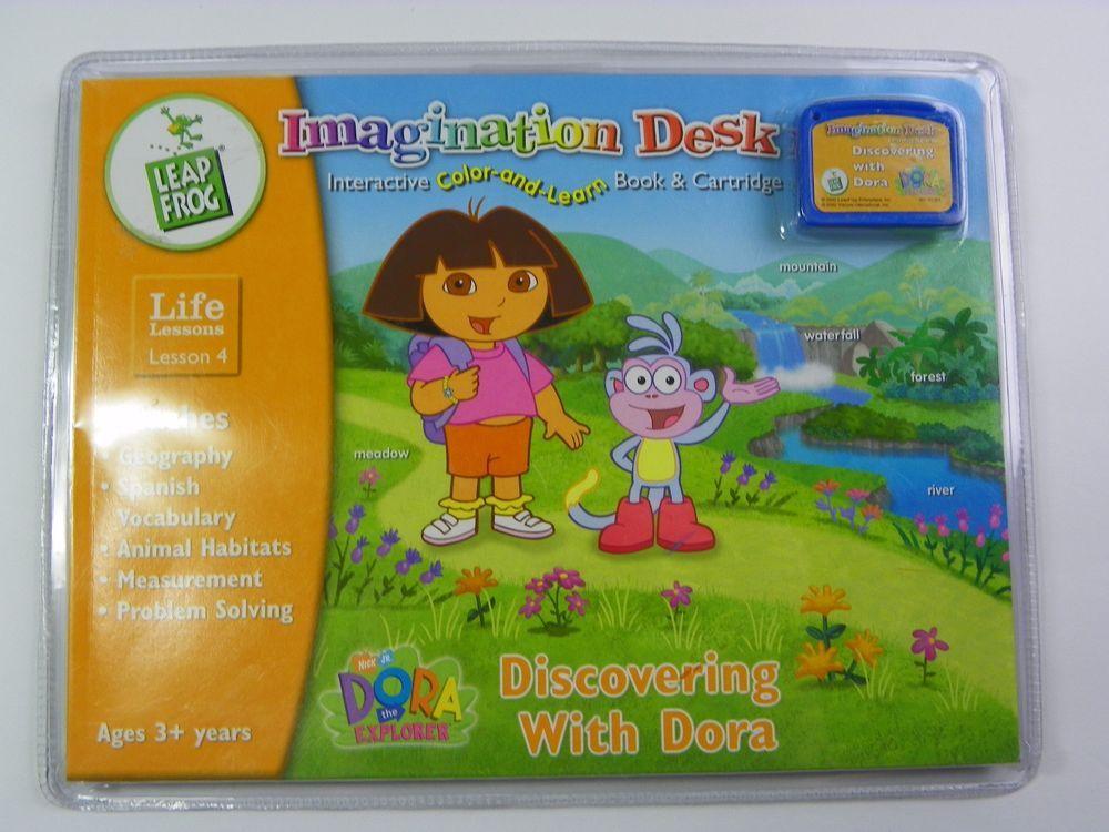 Leapfrog Imagination Desk Discovering With Dora Life Lessons 4 Nip