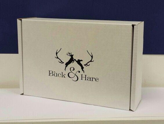 Overprinted cardboard boxes