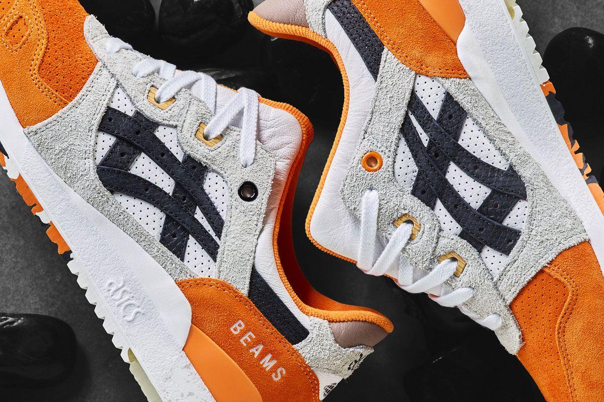 Afew x BEAMS x ASICS Gel Lyte III Orange Koi Release Date | Sneakers ...