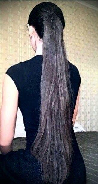 Long Hairs Absolutely Amazing Long Hair Ponytail Long Indian Hair Long Hair Women