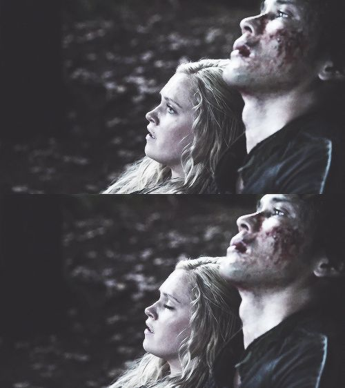 You guys are so perfect, be together already! #Bellarke #The100 #Bellamy #Clarke