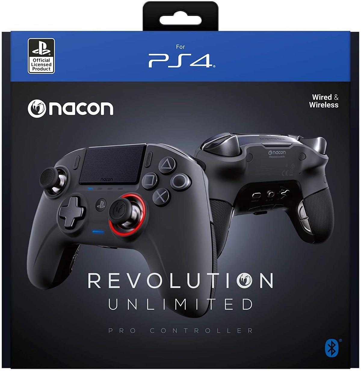 Nacon Revolution Unlimited Pro Controlle In 2020 Game Controller Ps4 Pro Controller Wireless Controller Heute kläre ich die frage, für wen eignet sich der nacon revolution pro controller. pinterest