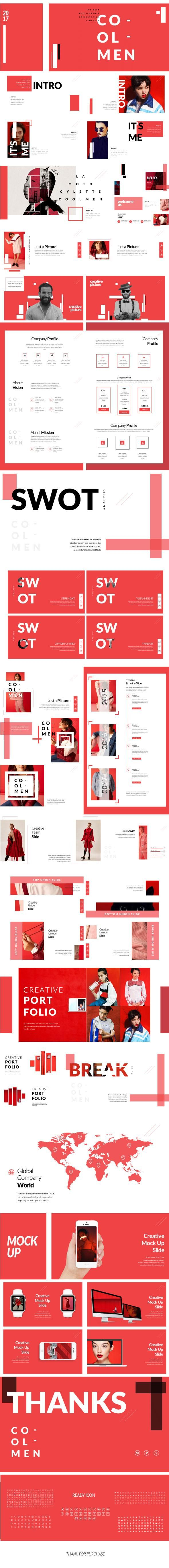 cool men modern multipupose presentation templates for 16