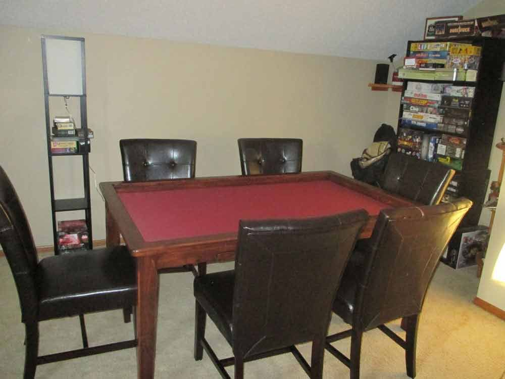 Boardgametables  Custom Built Game Tables  House Decor Entrancing Custom Built Dining Room Tables Decorating Inspiration