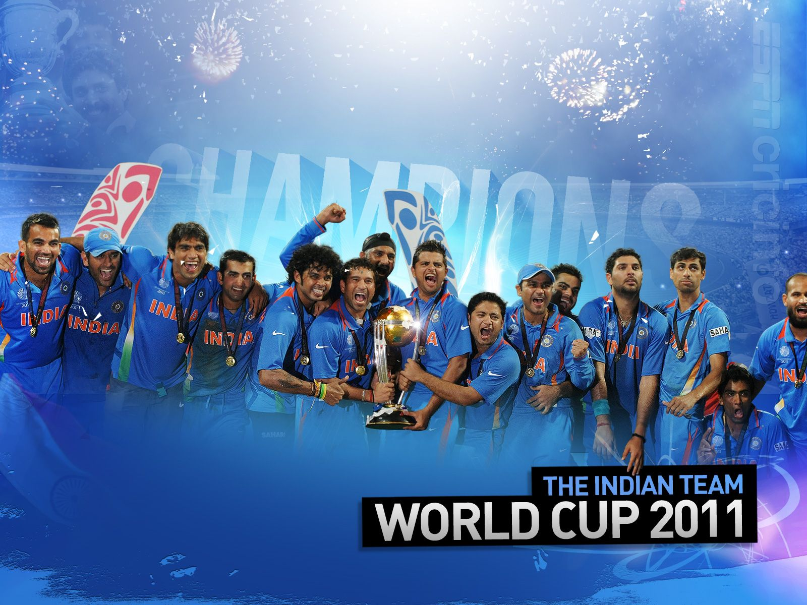 India Team World Cup 2011 Wallpapers | HD Wallpapers ...