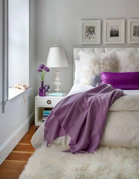 Popular Paint Color For Bedroom Trends 2021 Purple And Lilac Interior Trends Bedroom Makeover Before And After Small Master Bedroom Master Bedroom Makeover