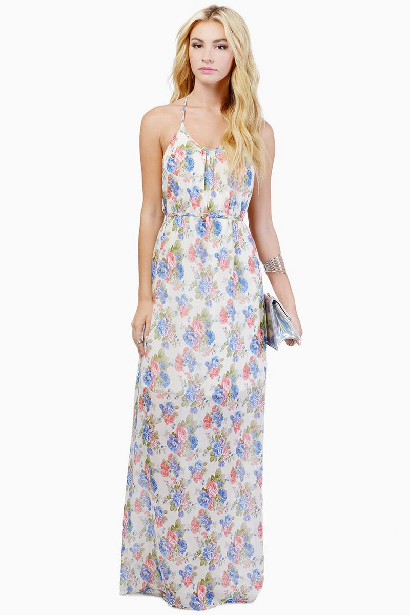 small only feel the breeze maxi dress summer of weddings