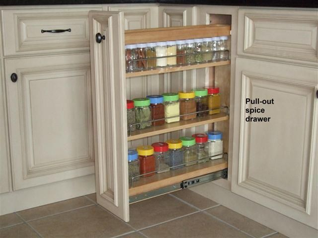 2011 Finalist On CG! Using A Base Cabinet And Installing A Spice Pull Out  Rack